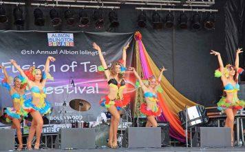 Fusion of Taste Festival Dancers
