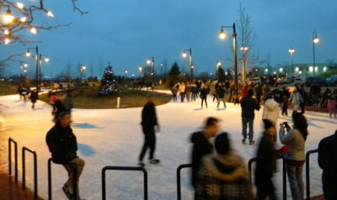 Sam Smith Park Skating Trail
