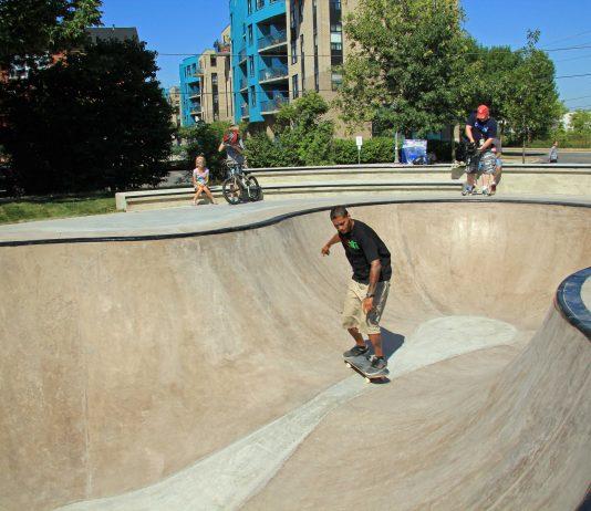 Eighth Street Skatepark in Etobicoke