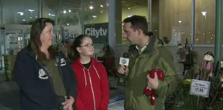 Citytv Food Drive at Loblaws in Etobicoke