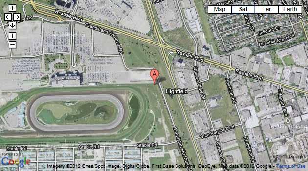 Woodbine Racetrack Map