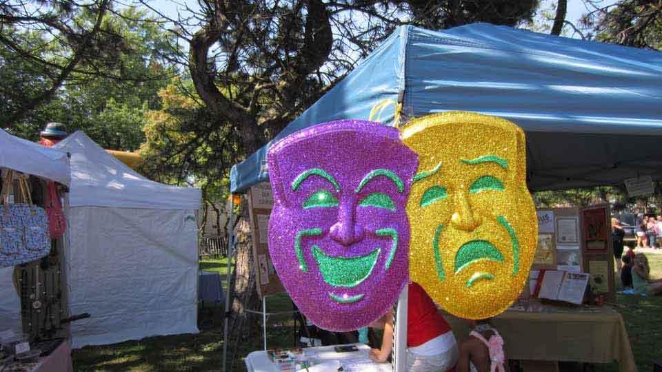 Lakeshore Mardi Gras Masks