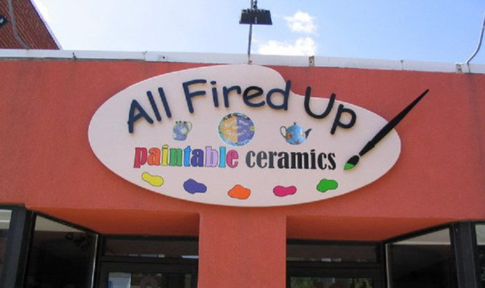 All Fired Up Paintable Ceramics